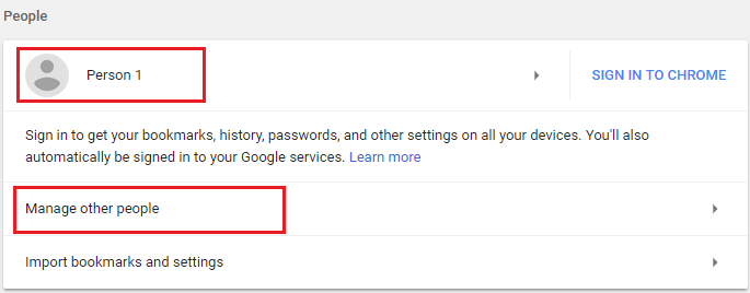 How To] Using Multiple profiles in Chrome | TheServerGeeks